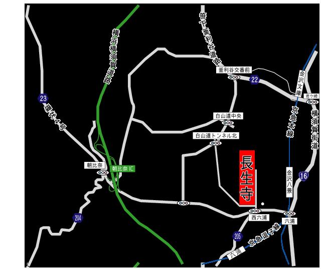 長生寺 寿楽会館アクセス地図